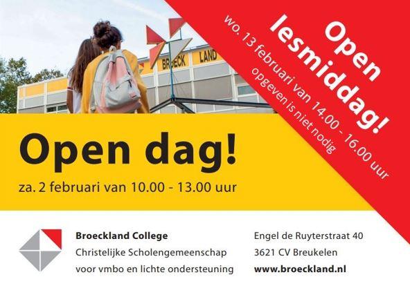 Open dag Broeckland